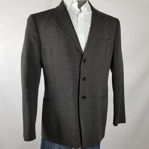 Giorgio Armani | Textured Single Breasted Blazer